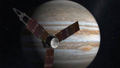 朱诺探测器进木星轨道