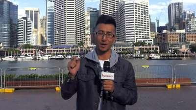 才游情人港 又逛鱼市场 2016悉尼霍巴特海帆赛场外的美食美景