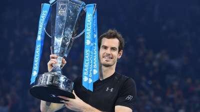年终赛-穆雷击败小德夺冠 首次加冕年终世界第一