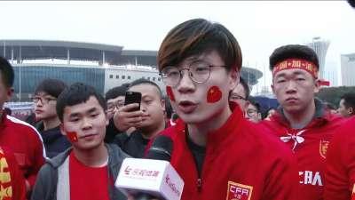 支持国足不需要理由!球迷直言能接受中国队失利