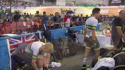 2017UCI场地自行车世锦赛第二日全场录播(英文)