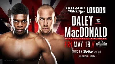 Bellator179勇士格斗赛 戴利vs麦克唐纳德