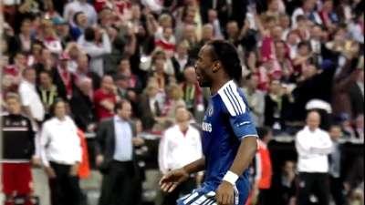 欧冠决赛魔兽头球后蹭力挽狂澜 蓝军对阵拜仁5佳球
