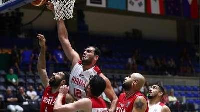 男篮亚洲杯-阿尔阿瓦迪16分 约旦2分险胜叙利亚