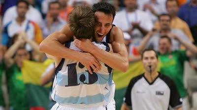 历史上的8月28日:雅典奥运阿根廷淘汰梦六