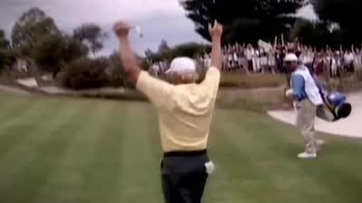 总统杯时刻-1998年格雷格诺曼远程擒鸟