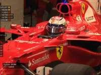 三练事故导致赛车损毁 莱科宁成功赶上排位赛