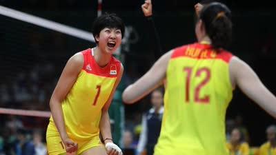 央视:12年后重夺奥运冠军 中国女排万岁!