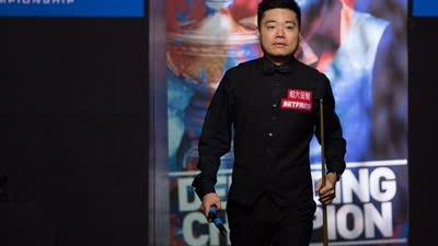 世锦赛丁俊晖10-5周跃龙 去年亚军迎来漂亮开门红