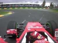 F1澳大利亚站一练 莱科宁车载新引擎声满意吗?