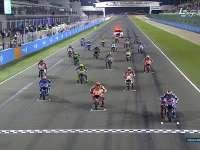 MotoGP卡塔尔站正赛起步 洛伦佐守住领先