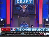 NFL选秀大会第21顺位 威尔-富勒 (德州人)