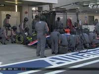 拆不下来!F1俄罗斯站正赛 维尔莱茵超慢进站换胎