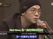 第四期看点:西出口与对手Jkyun两人都忘词失误后进行了第二次比赛(Show Me The Money)