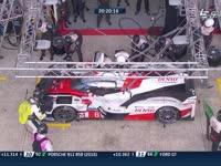 勒芒24小时耐力赛:丰田两车同时进站 小林可梦伟登场