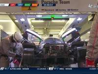 勒芒24小时耐力赛:保时捷1号赛车进站维修