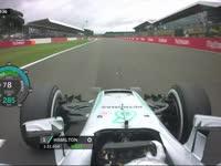 F1英国站FP1全场回顾(现场声)