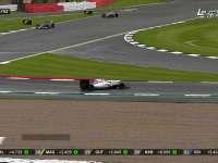 F1英国站正赛:博塔斯失误赛车调头