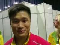 吕小军:没想过他会夺冠 超世界纪录4公斤很惊人