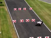 根本停不下来!F1意大利站FP2 格罗斯让走大去绕桩