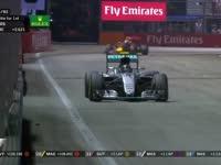 坚持就是胜利!F1新加坡站正赛:罗斯伯格被告知稳住