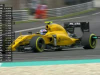 F1马来西亚站FP3 帕默尔TR爆粗不满圈速