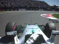 F1墨西哥站排位赛 蒙托亚采访汉密尔顿