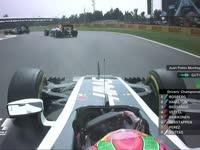 F1墨西哥站正赛暖胎圈:蒙托亚采访古铁雷兹