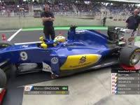 F1巴西站排位赛Q1停表:巴顿惨遭淘汰