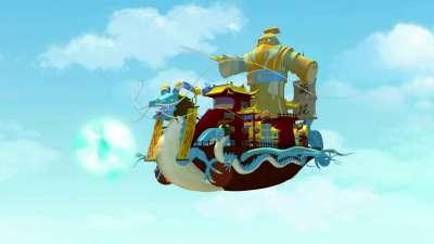 《星际炮兵团之护花使者》第45集 黑海精灵船