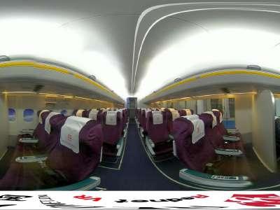 [VR]湖南外贸职院空中乘务专业航空模拟舱