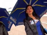 MotoGP女郎性感来袭 大长腿配翘臀勾人无数