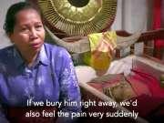 毛骨悚然的印尼干尸村!定期给干尸清洗换衣服