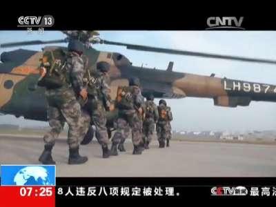 """[视频]中国军队之""""国之利刃"""":中国陆军特种部队"""