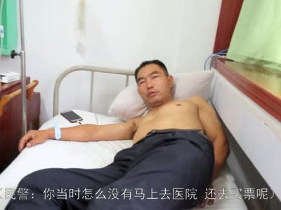 重庆男子火车站胃出血晕倒 怀化铁路民警及时救助送医