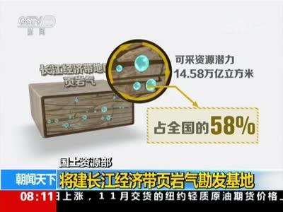 [视频]国土资源部:将建长江经济带页岩气勘发基地