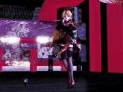 【MMD】極楽浄土【黑丝巨乳 Rin】