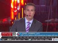 NFL选秀大会第14顺位 卡尔-约瑟夫 (突袭者)