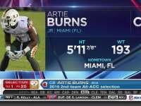 NFL选秀大会第25顺位 阿蒂-伯恩斯 (钢人)