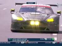 勒芒24小时耐力赛:95号阿斯顿-马丁遭遇引擎问题