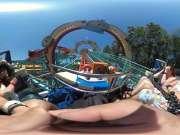 奥兰多动物园过山车(Orlando 2016 - Dinosaur Coaster at Animal Kingdom)