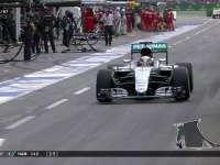 F1德国站正赛:汉密尔顿Kimi同圈进站换软胎