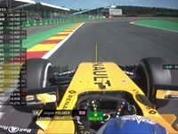 F1比利时站FP1:帕默尔赛车出现故障返回维修区