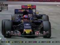 挡够本!F1新加坡站正赛:维斯塔潘终于超过科维亚特