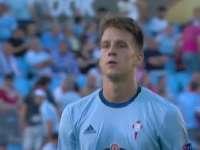 欧联-80分钟连入两球 塞尔塔2-0帕纳辛奈科斯