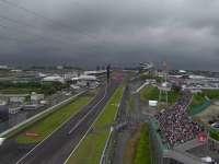 金老师又发功?F1日本站FP3赛前乌云密布要下雨啦