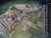 F1美国站FP2全场回放(GPS追踪)
