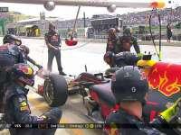 人呢?F1美国站正赛:维斯塔潘进站失误