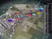 F1美国站正赛全场回顾(GPS追踪)