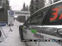 WRC瑞典站SS11:伯特利起步熄火影响状态